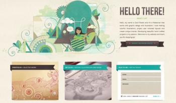 web design visual test 5